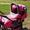 Коляска-трансформер Богус 3 ярко-розового цвета  #618999