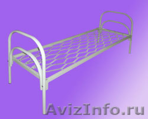 Кровати железные, кровати одноярусные, кровати двухъярусные, кровати для больниц - Изображение #1, Объявление #651158