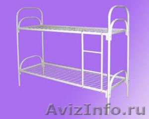 Кровати железные, кровати одноярусные, кровати двухъярусные, кровати для больниц - Изображение #3, Объявление #651158