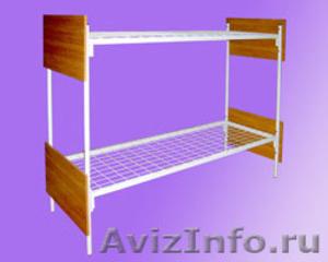 Кровати железные, кровати одноярусные, кровати двухъярусные, кровати для больниц - Изображение #4, Объявление #651158