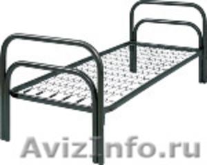 кровати одноярусные, кровати двухъярусные для военных, кровати металлические - Изображение #2, Объявление #696167