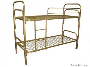 кровати одноярусные, кровати двухъярусные для военных, кровати металлические - Изображение #3, Объявление #696167