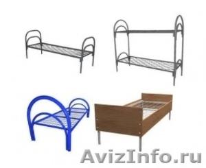 Двухъярусные металлические кровати, трёхъярусные металлические кровати. дёшево - Изображение #5, Объявление #1478958