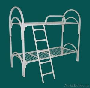 Кровати одноярусные металлические, кровати металлические двухъярусные, дёшево - Изображение #3, Объявление #1478867