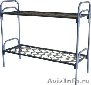 Кровати одноярусные металлические, кровати металлические двухъярусные. оптом. - Изображение #1, Объявление #1479538