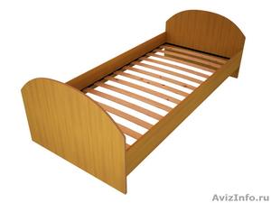 Кровати металлические двухъярусные, кровати для рабочих, кровати по низкой цене - Изображение #2, Объявление #1480300
