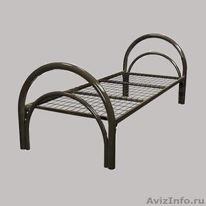 Двухъярусные металлические кровати, трёхъярусные металлические кровати. дёшево - Изображение #2, Объявление #1478958