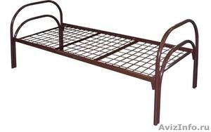 Кровати одноярусные металлические, кровати металлические двухъярусные. оптом. - Изображение #5, Объявление #1479538