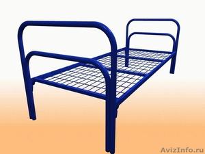 Кровати металлические для турбаз, кровати для гостиницы, двухъярусные, оптом. - Изображение #2, Объявление #1479822