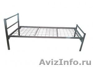 Кровати металлические двухъярусные, кровати для рабочих, кровати по низкой цене - Изображение #4, Объявление #1480300