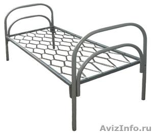 Кровати металлические для турбаз, кровати для гостиницы, двухъярусные, оптом. - Изображение #3, Объявление #1479822