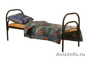 Кровати одноярусные для бытовок, кровати двухъярусные для детского лагеря - Изображение #2, Объявление #1479391