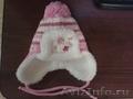 Продаю зимнюю шапку для новорожденной