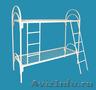 Кровати металлические с ДСП спинками, кровати одноярусные и двухъярусные. - Изображение #3, Объявление #1479520