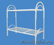Кровати одноярусные металлические, кровати металлические двухъярусные. оптом. - Изображение #3, Объявление #1479538