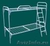 Кровати одноярусные металлические, кровати металлические двухъярусные. оптом. - Изображение #4, Объявление #1479538